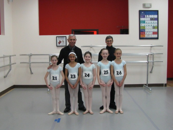 ABT's JKO Principal Franco De Vita, and myself, and a handful of the 2011 exam candidates