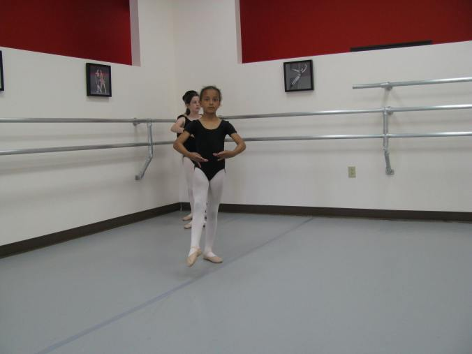 A class in the early history of Knoxville Ballet School