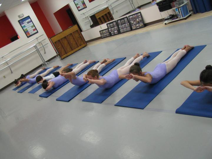And in 2010 Pilates mat classes with Jay Apking became required cross-training  young KBS students.