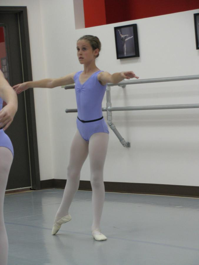 Some who have been at the school since they were quite young start to look like dancers.