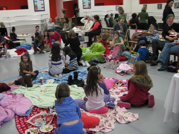 In December of 2011 the school hosted what would be its fifth and final Nutcracker Tea party.