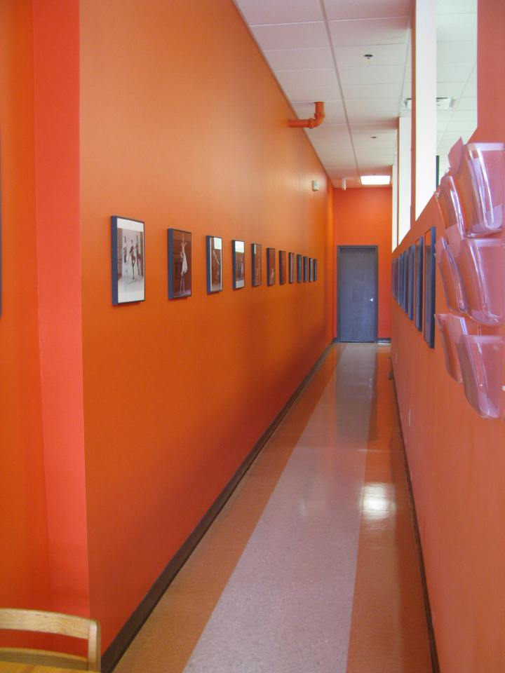 Parting images; the long hallway
