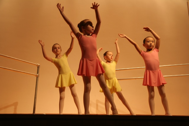 In February of 2012 every level at the school participated in its first formal performance, a lecture demonstration of American Ballet Theatre's National Training Curriculum.  The performance was open to the public, in the auditorium at the Knoxville Museum of Art.