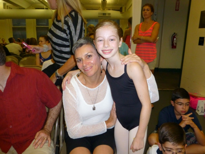 With one of my students just before class at ABT
