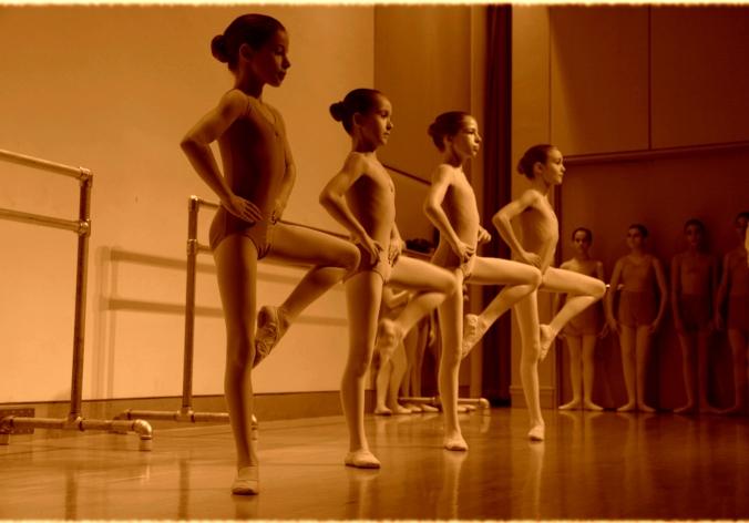 Youngdancersinsepia