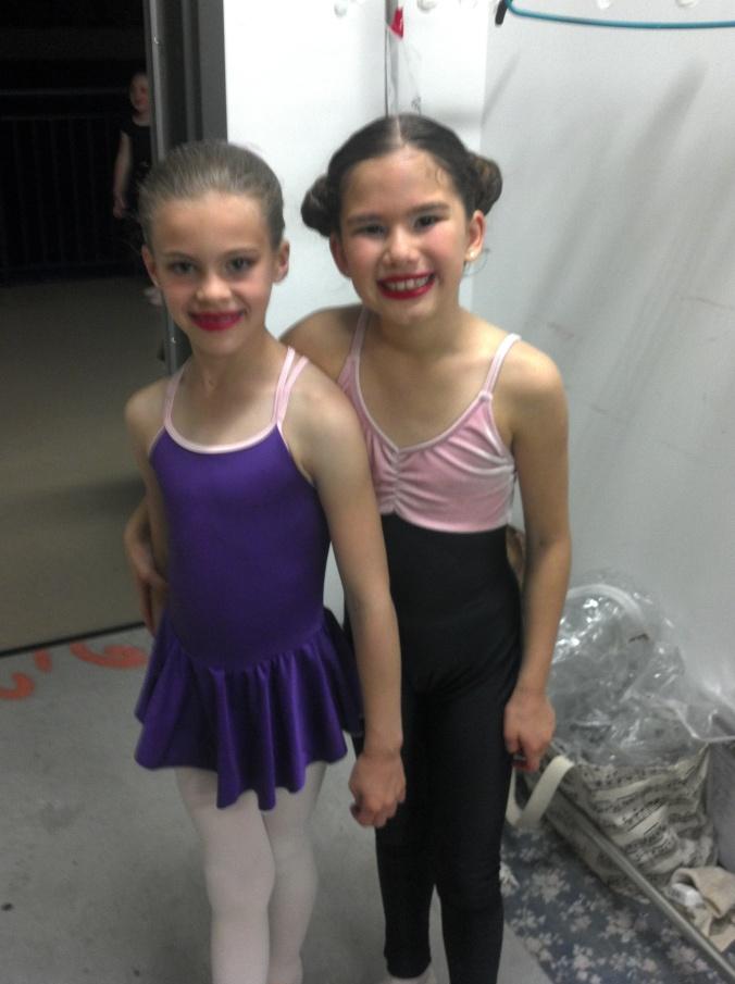 Backstage friends