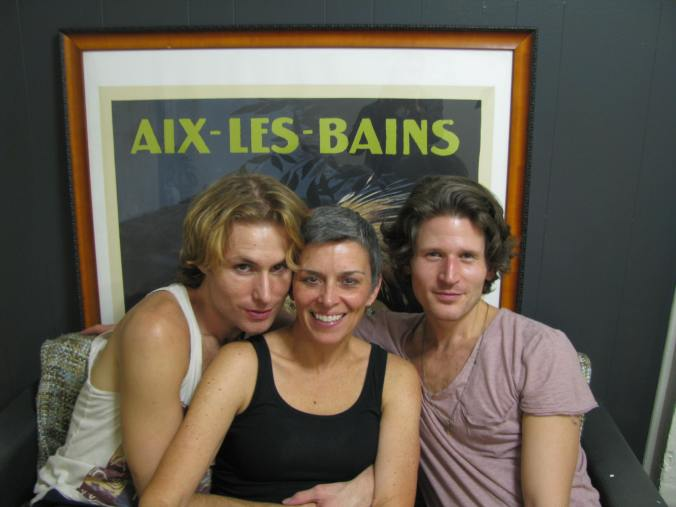 October 2012 in NYC with   Ryan and Billy, two ballet besties