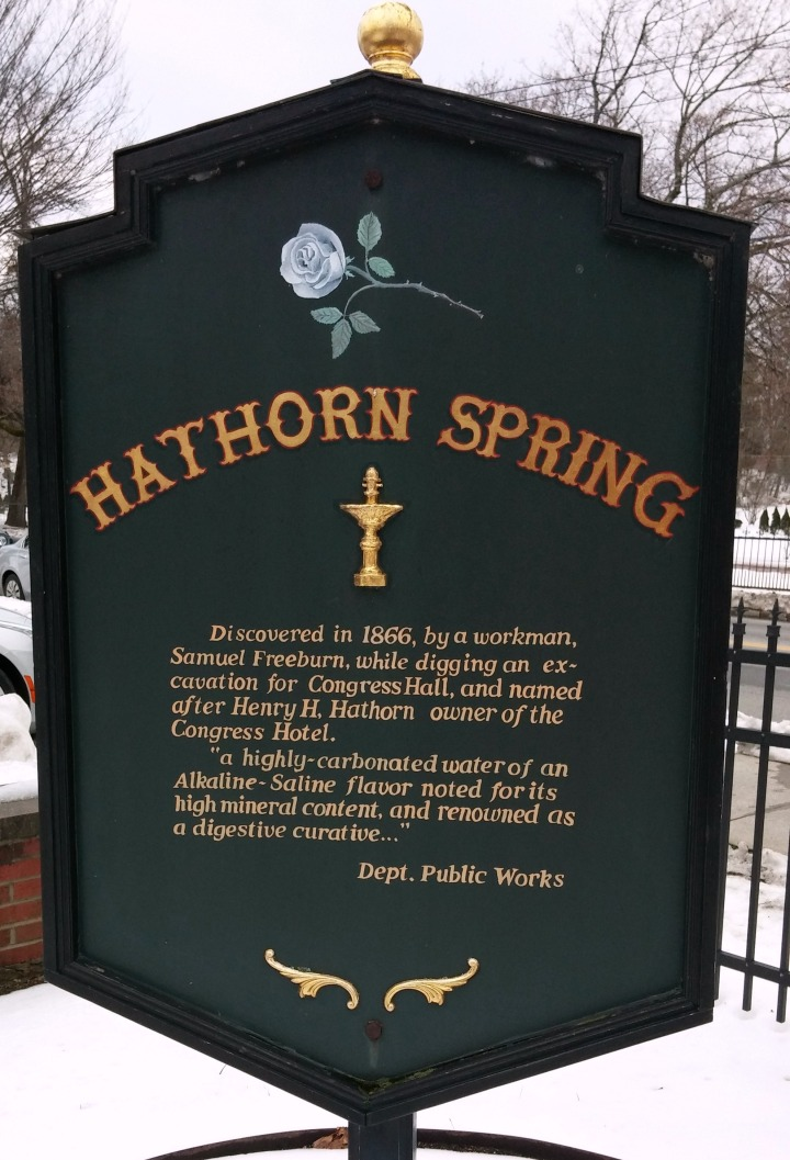 Hathorn Spring Historic Marker