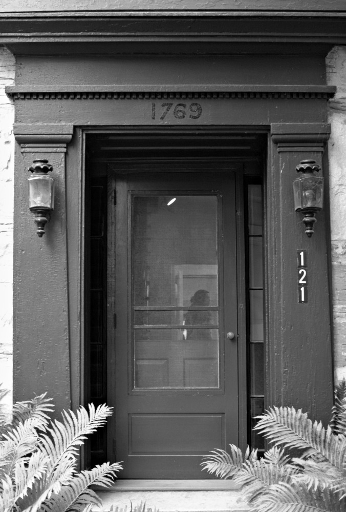 Robert Frost House Front Door