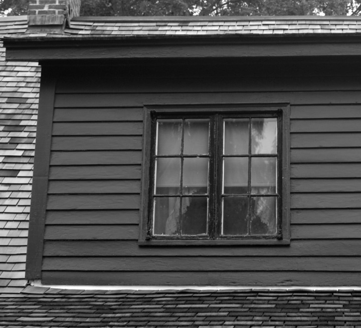 Robert Frost House Rear Window