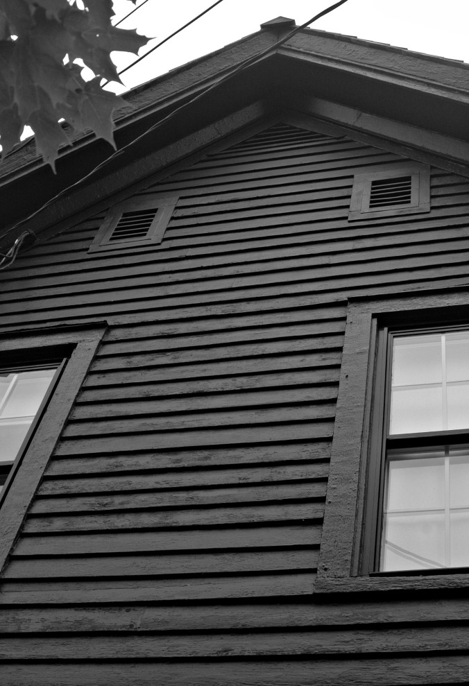 Robert Frost House South Facing Gable