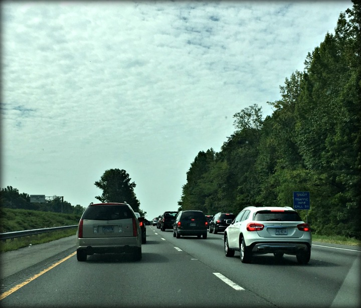 Bumper to Bumper Traffic in Virginia