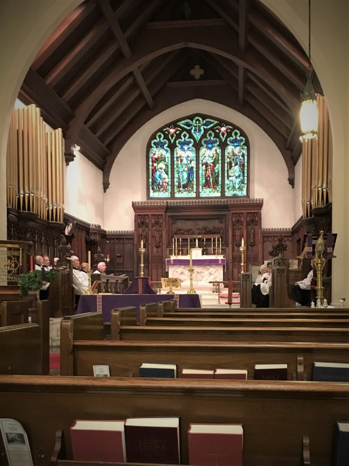 St. Peter's Episcopal Church nave