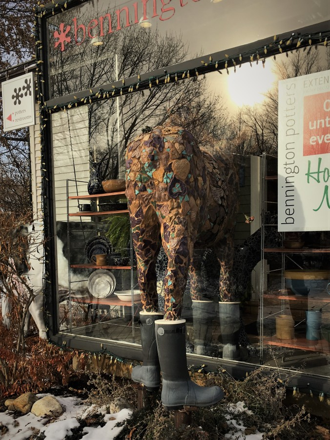 Bennington Potters storefront