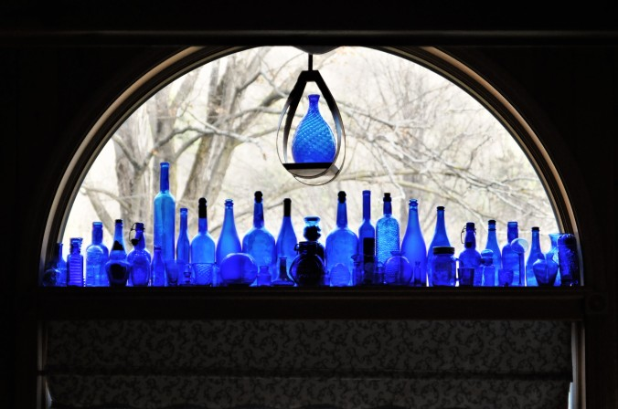 Cobalt Glass Collection