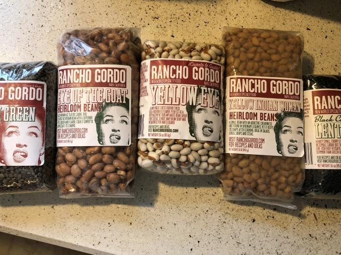 Beautiful Rancho Gordo Beans